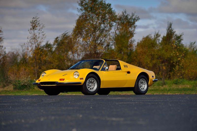 1974 Ferrari Dino 246 GTS (Lot T200.1)