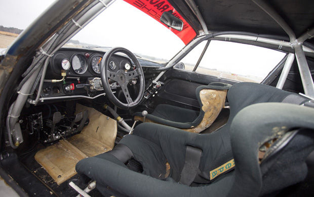 1974 Porsche RSR Turbo Carrera Interior
