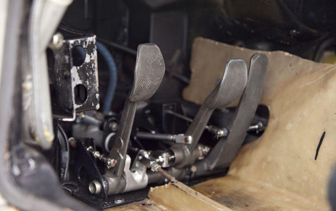 1974 Porsche RSR Turbo Carrera Pedals