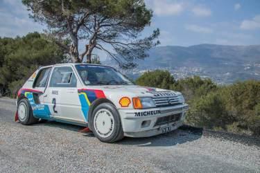 1984 Peugeot 205 Turbo 16 Evolution 1 Group B (photo: Toby Wright)