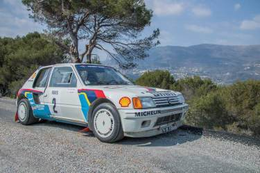 1984 Peugeot 205 Turbo 16 Evolution 1 Group B (photo: Toby Wright)