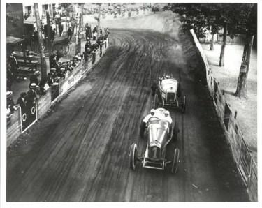 Jimmy Murphy Duesenberg, Winner 1921 French GP (IMS Archives)