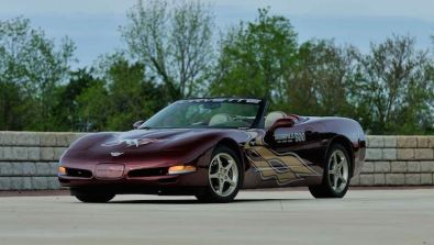 2003 Chevrolet Corvette 50th Anniversary Edition with 135 miles