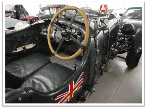 Blower Bentley in Ralph Lauren Car Collection