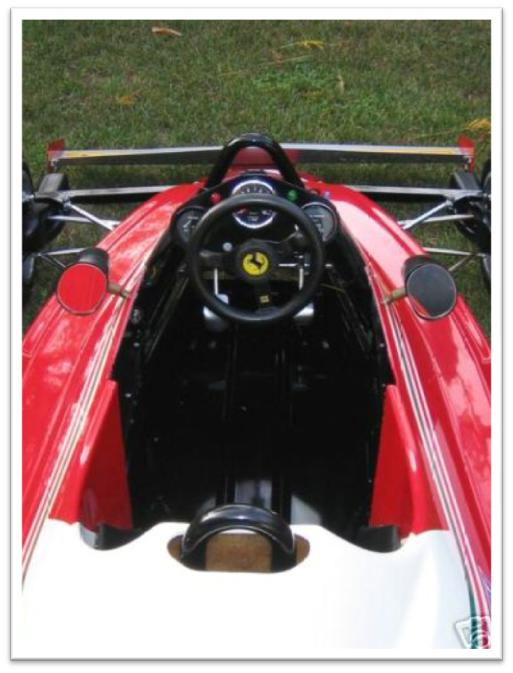 Ferrari 312 T2 Go Kart