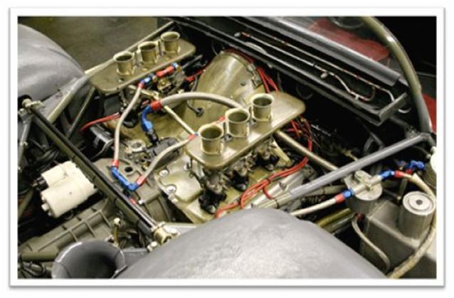 Porsche 910 Engine