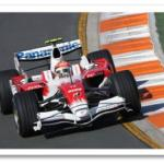 F1 Driver Timo Glock at Monterey Historics