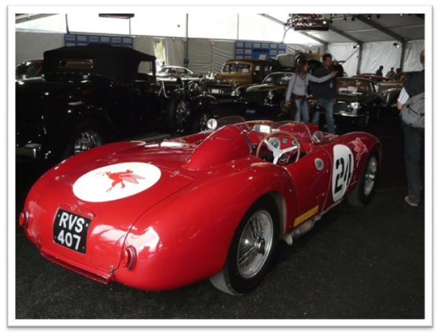 1954 Lancia D-24 Carrera Reconstruction