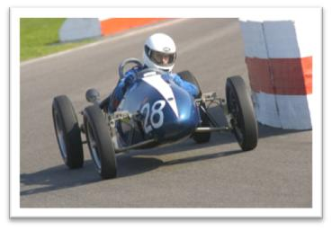 The 2008 Earl Of March Trophy Race Fell To Cooper Driver Simon Frost.