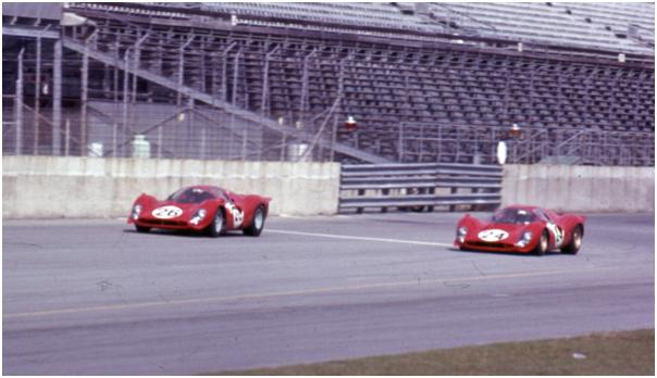 N.A.R.T. Ferrari 412 P and Ferrari 330 P4