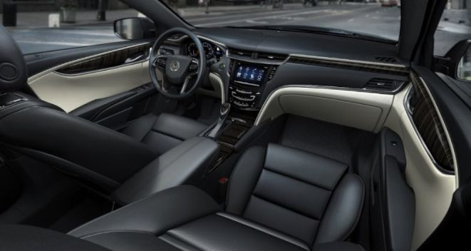2013 Cadillac XTS Platinum Collection Interior