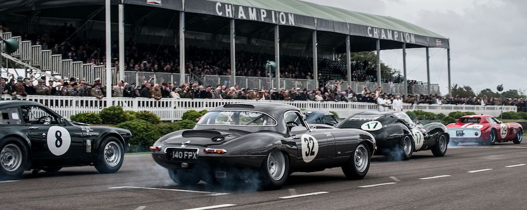 Start of the RAC Tourist Trophy at 2013 Goodwood Revival