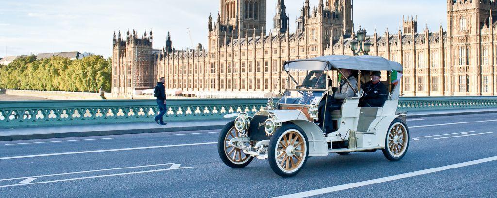 1904 Mercedes on 2013 London to Brighton Veteran Car Run
