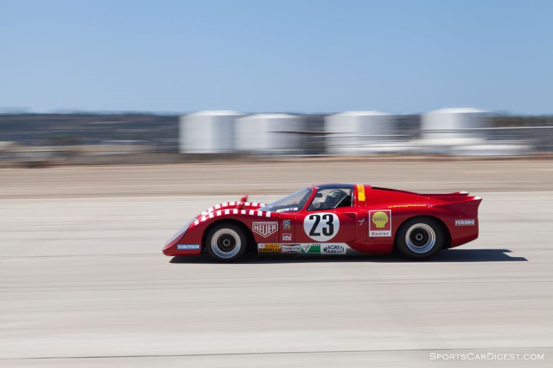 Jeff Klein races towards turn 10 in his 1970 Chevron B16.