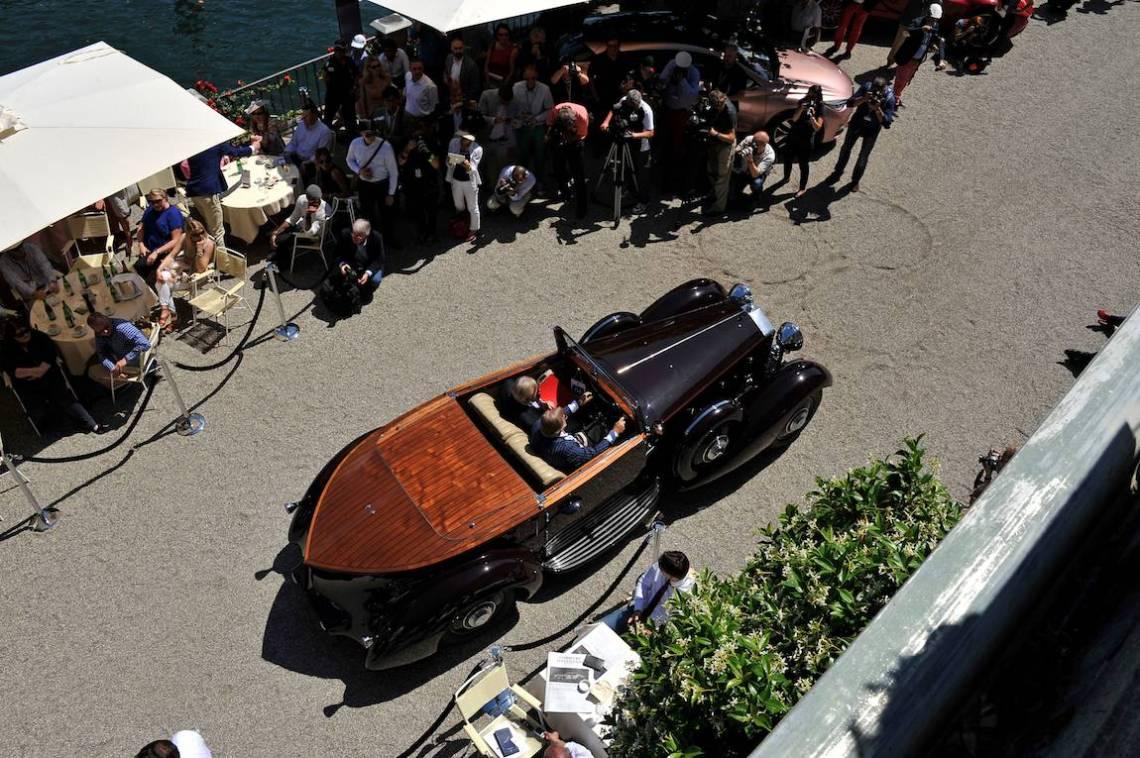1934 Rolls-Royce Phantom II Gurney Nutting Boattail