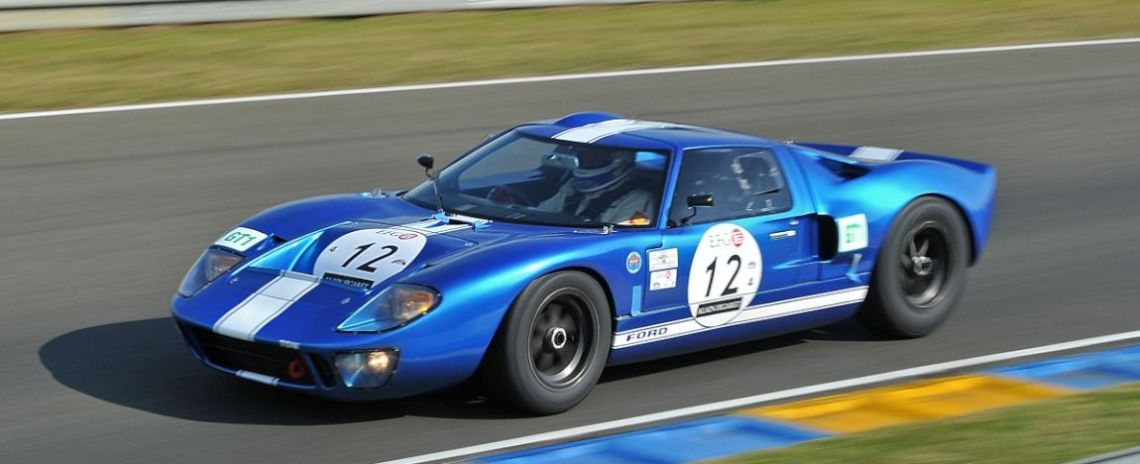 Race winning 1965 Ford GT40 of Hans Hugenholtz