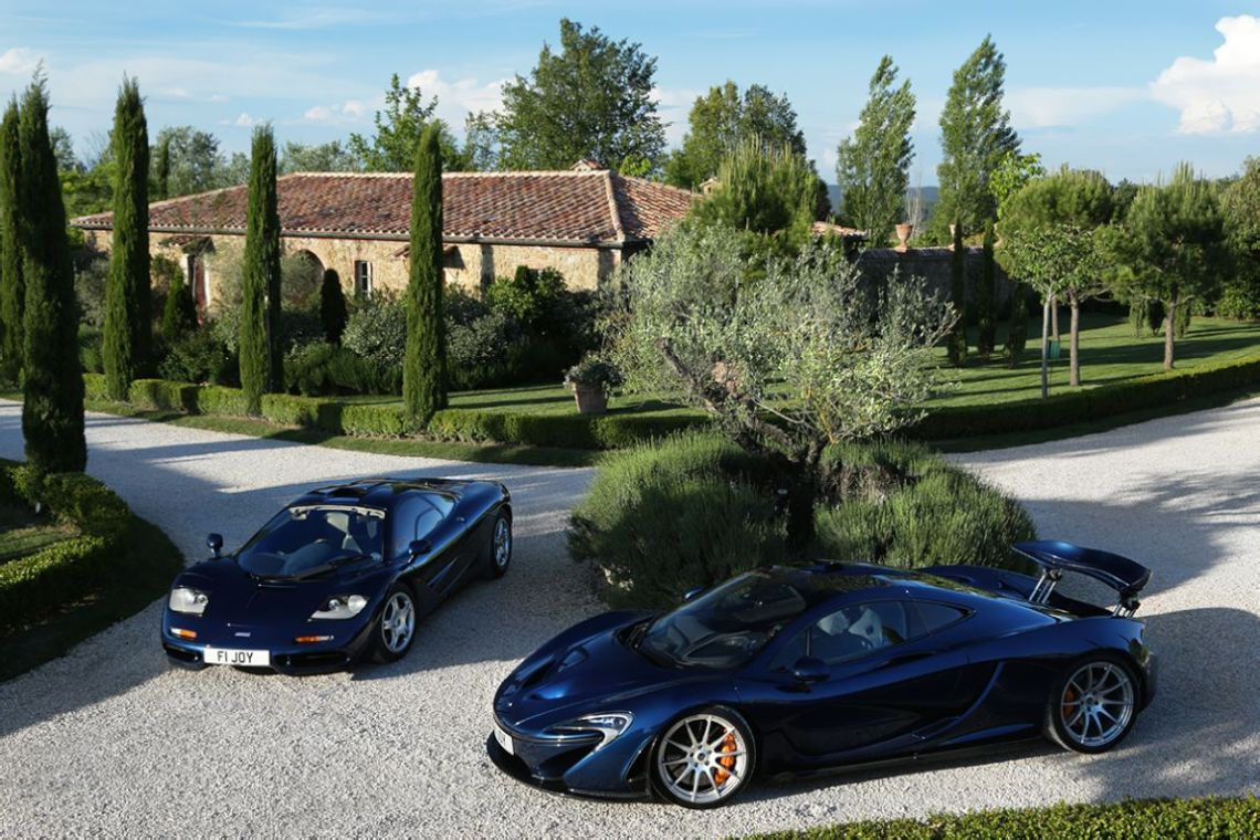 McLaren P1 and F1 chassis 046 of Clive Joy
