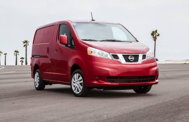 2014 Nissan NV200 - Front
