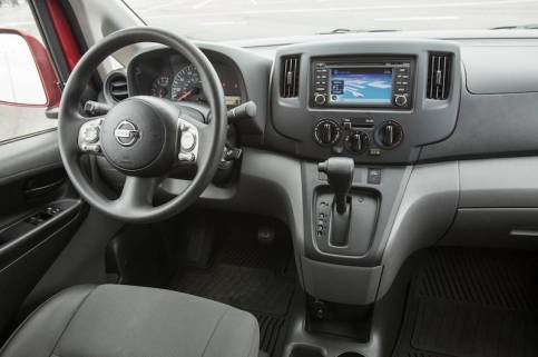 2014 Nissan NV200 - Dashboard