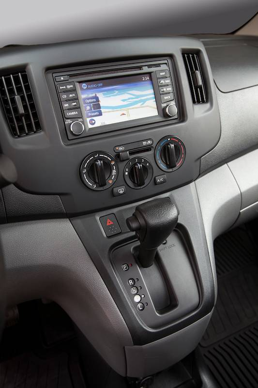 2014 Nissan NV200 - Shift console
