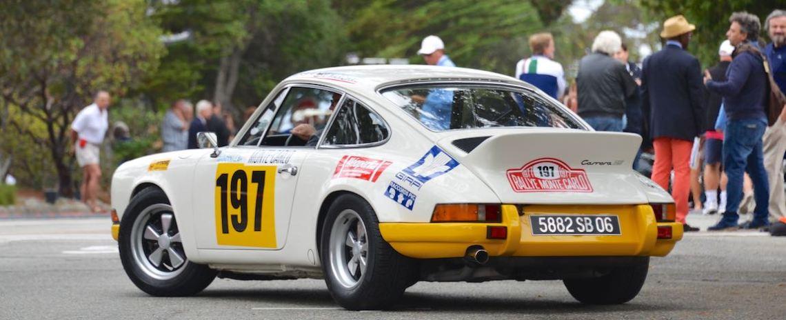 Ex-Monte Carlo Rally 1973 Porsche 911 Carrera RS