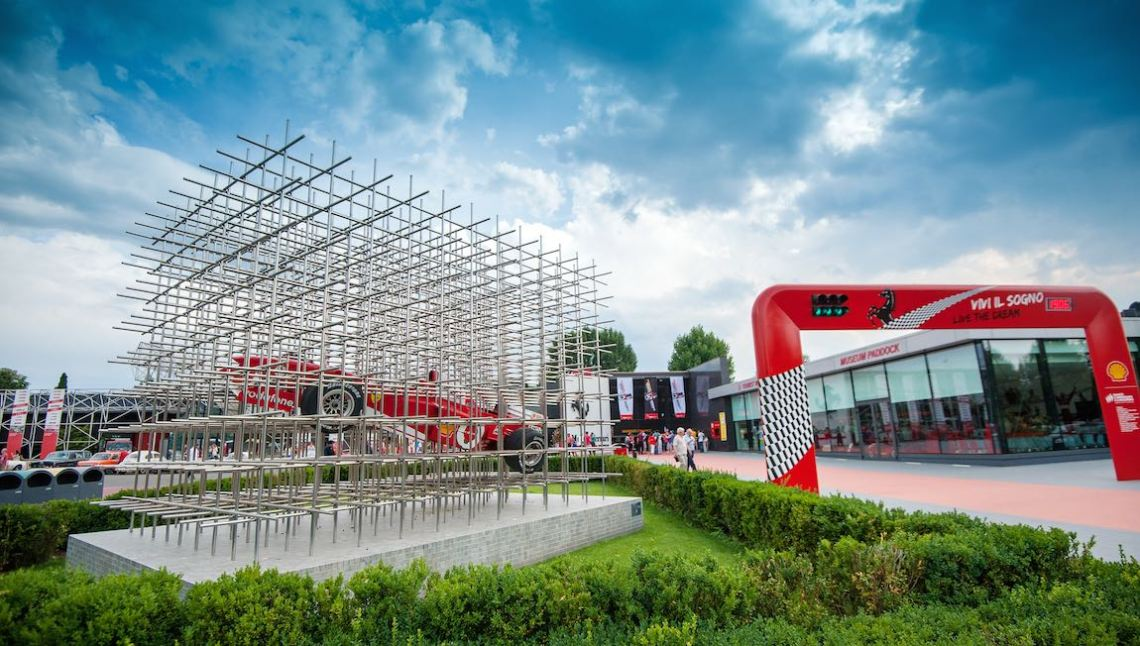 Stop at the Ferrari Museum in Maranello
