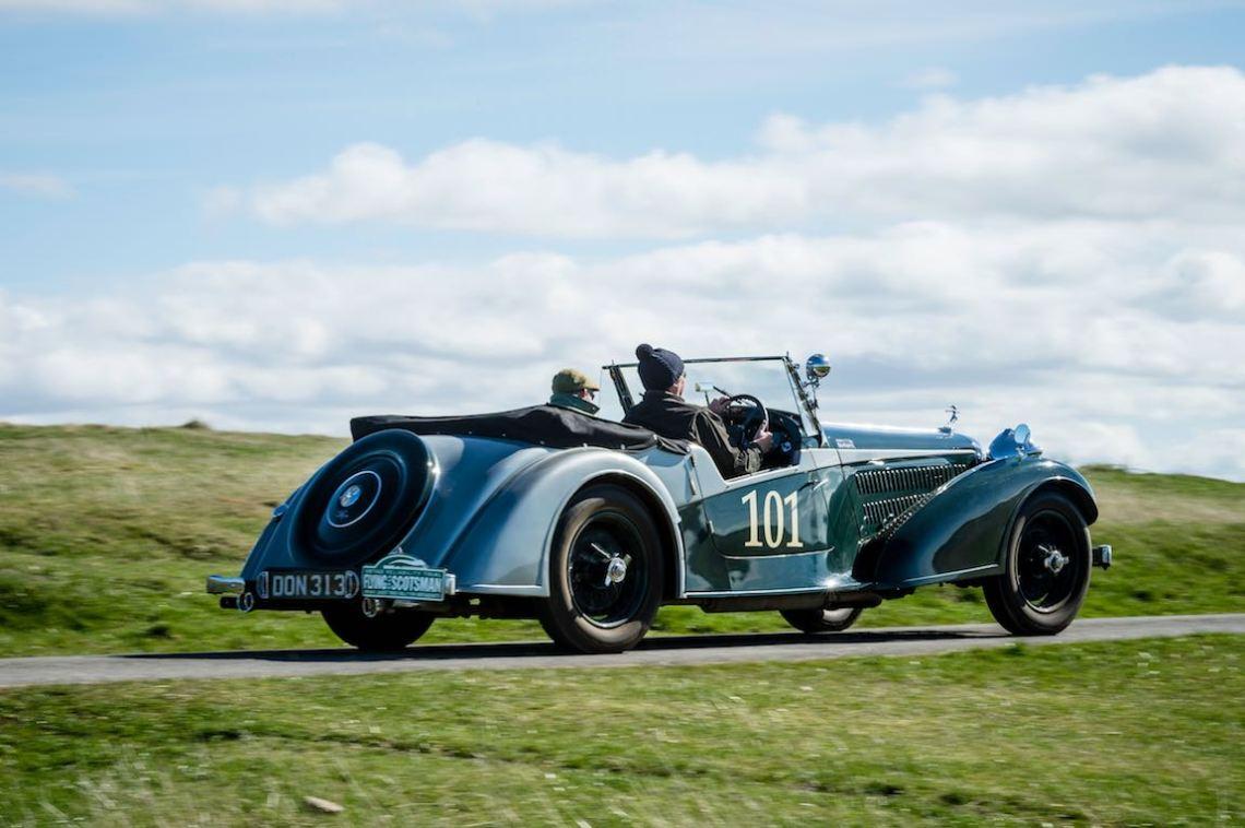 1937 Alvis 4.3 Tourer