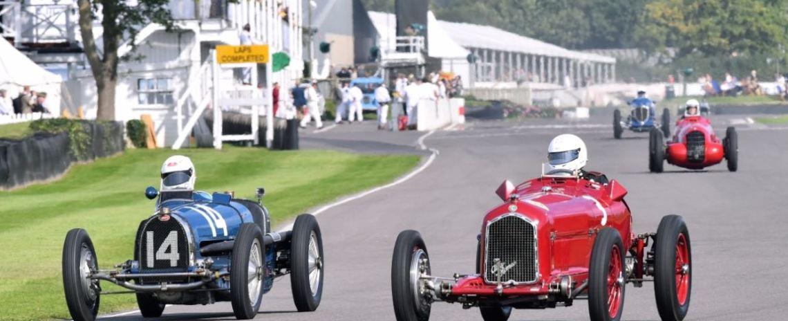 1934 Bugatti Type 59 and 1934 Alfa Romeo Tipo B
