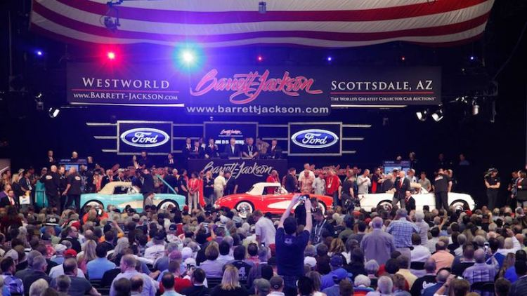 Serial One Corvettes at 2016 Barrett-Jackson Scottsdale