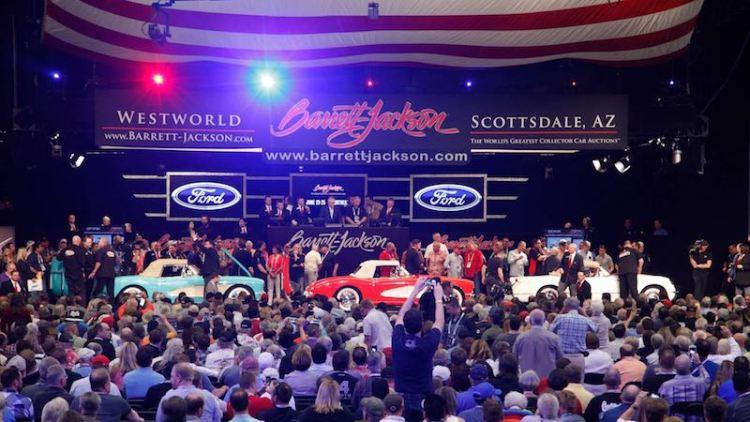 Serial One Corvettes at 2016 Barrett-Jackson Scottsdale