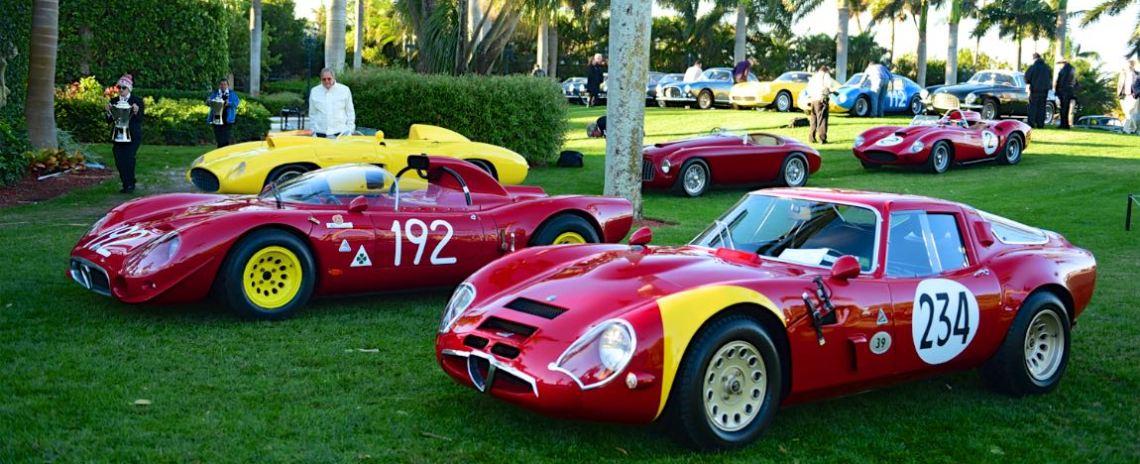 1967 Alfa Romeo Tipo 33 - s/n: 0004 and 1967 Alfa Romeo TZ2 Zagato - s/n:750117