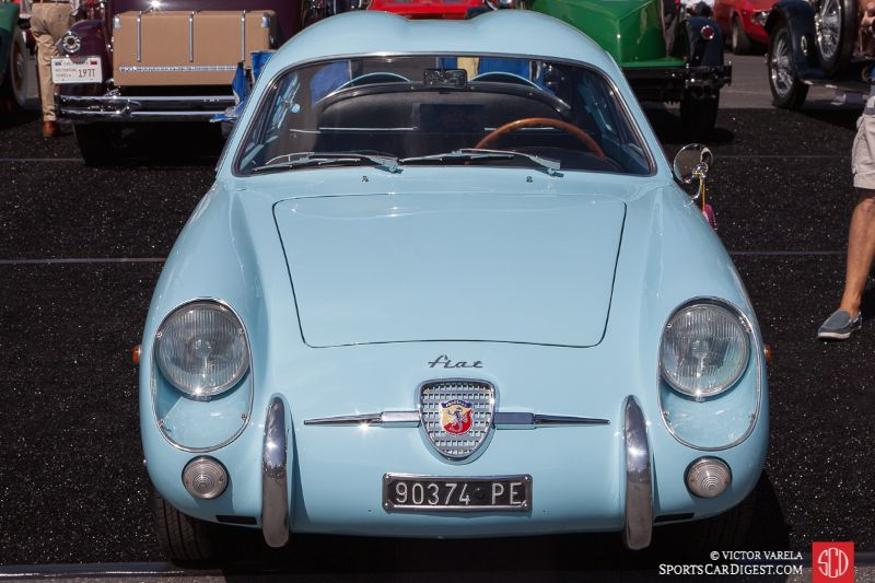 1958 Fiat-Abarth 750 GT Coupe owned by Alan & Wendy Hart
