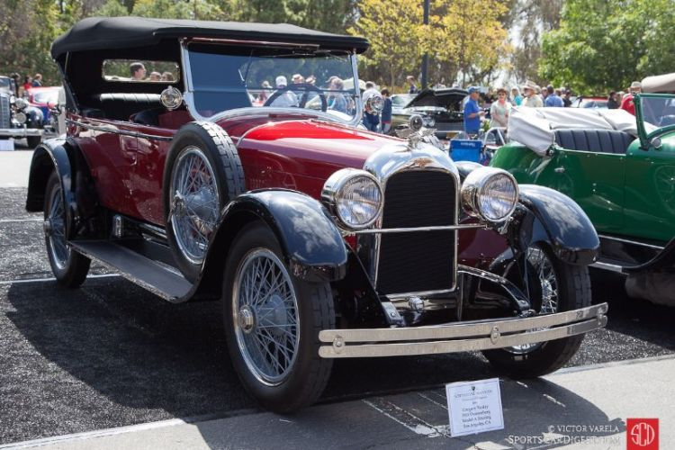 1923 Duesenberg Model A Touring of Gregory Vanley