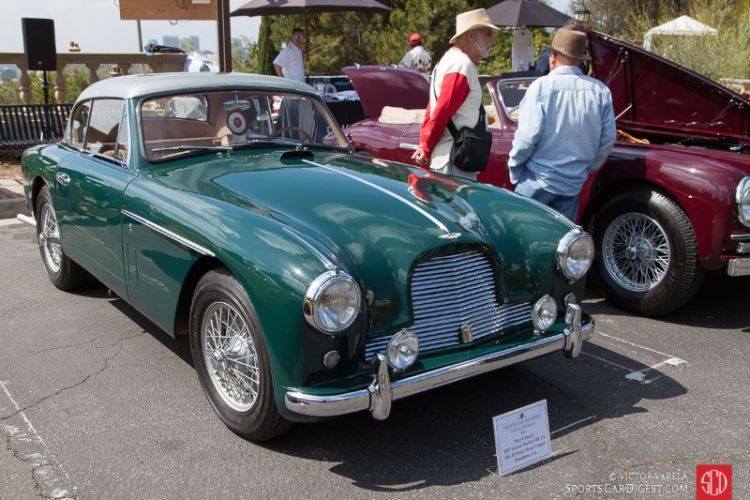 Paul Colony's 1957 Aston Martin DB 2/4 Mk II FHC