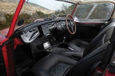 1961 Austin-Healey 3000 Mk I Works Interior