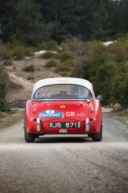 1961 Austin-Healey 3000 Mk I Works Rear