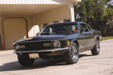 1970 Ford Mustang Mach 1 428 Cobra Jet Fastback