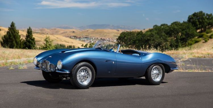 1954 Aston Martin DB2/4 Bertone Spider (photo: Mike Maez)