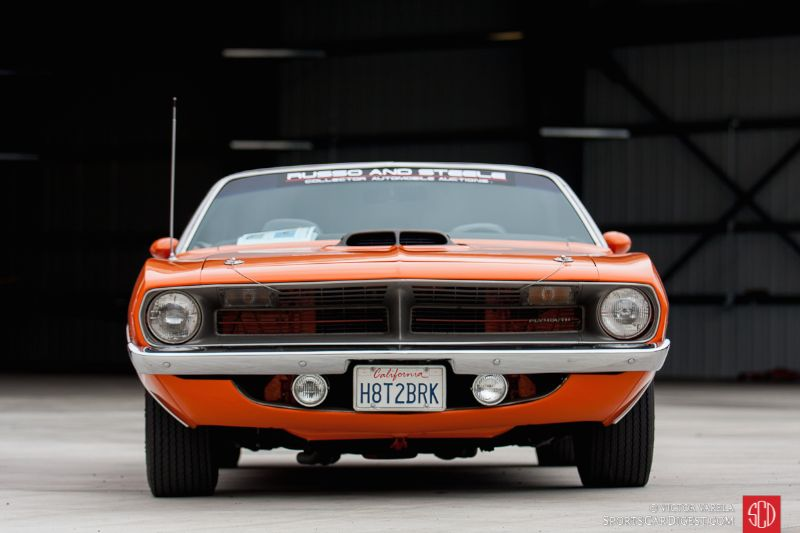 Jay Jeff's Plymouth 'Cuda convertible