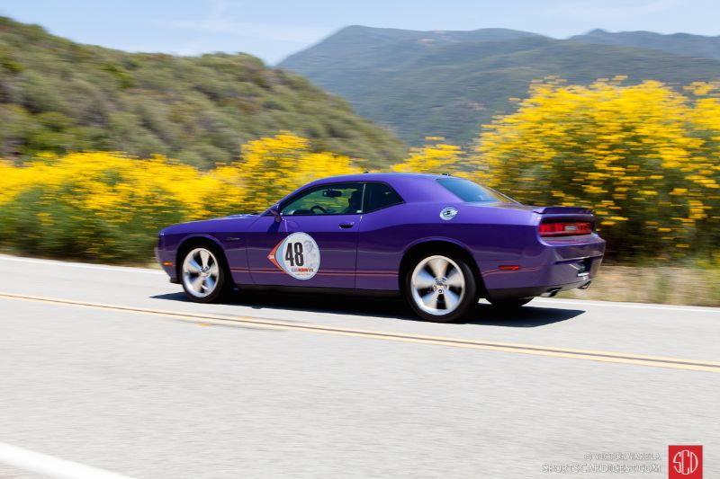 Dodge Challenger driven by Mark Perleberg