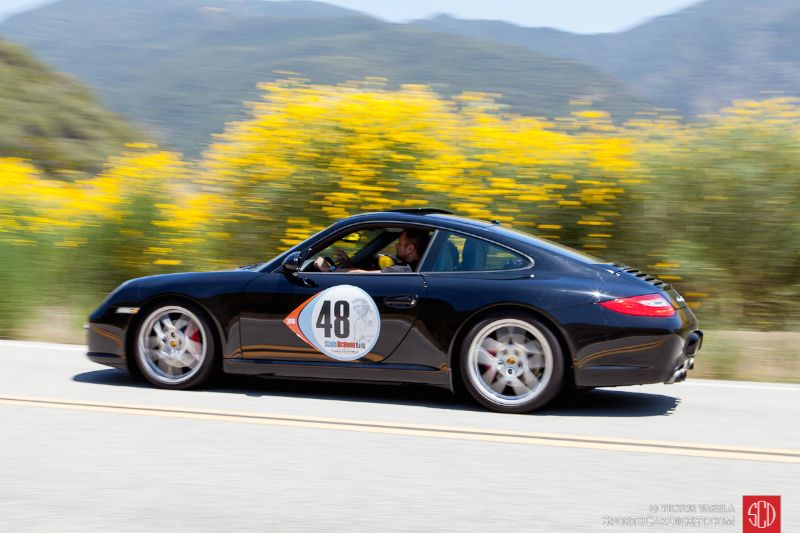Porsche 911S driven by Chris Kyriakos