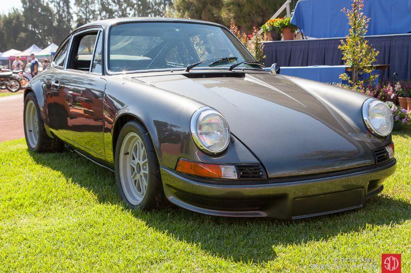 """The Porsche """"911 BR"""" project car"""