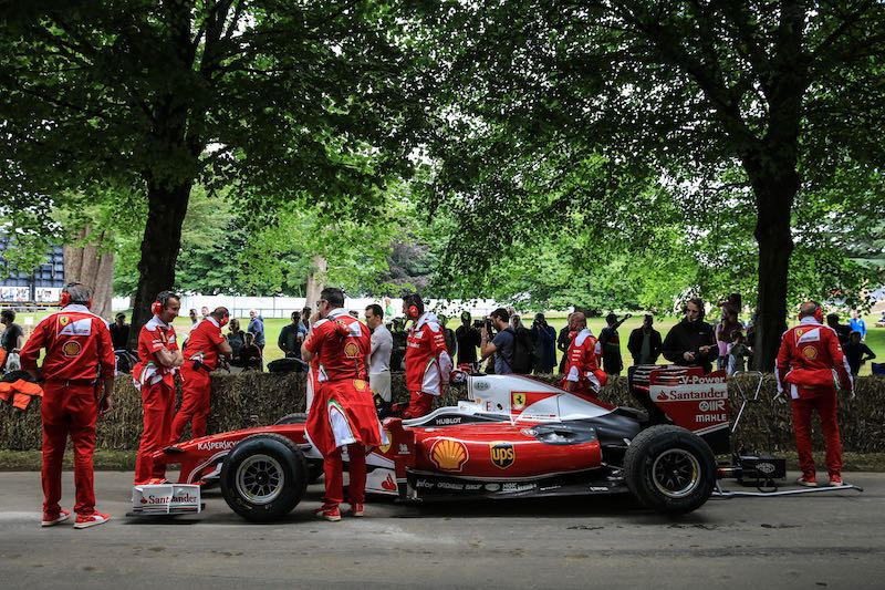 Ferraris at 2016 Goodwood Festival of Speed