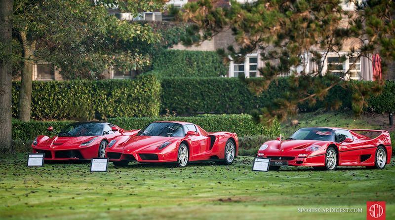 Ferrari LaFerrari, Ferrari Enzo and Ferrari F50