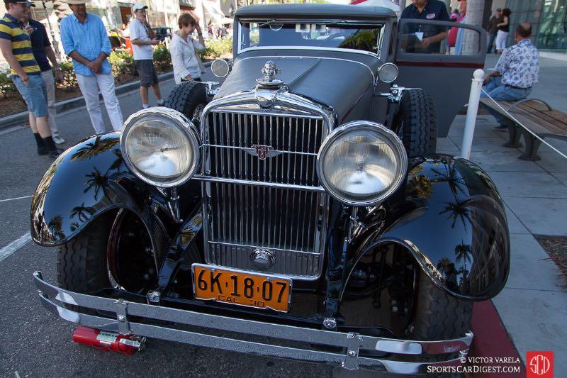 1930 Stutz Monte Carlo Sedan by Weymann - Automotive Driving Museum