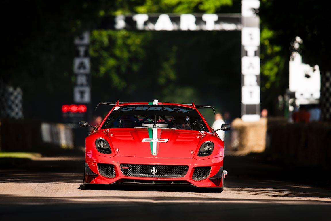 Ferrari 599XX Evo Photo: Drew Gibson