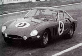 Ferrari 330 LMB 4381SA at Le Mans in1963 driven by Guichet-Noblet