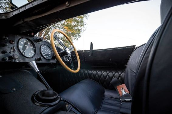 1955 Jaguar D-Type Interior