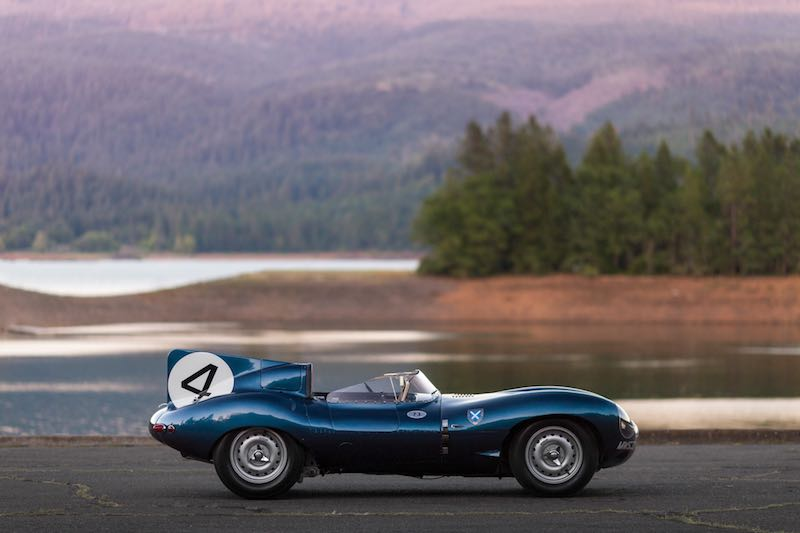 1955 Jaguar D-Type Right Side