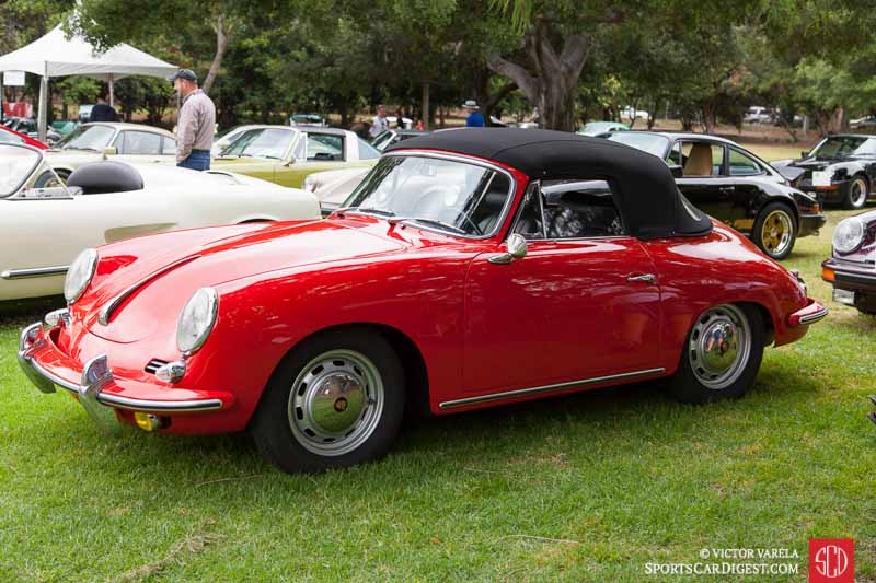 1964 Porsche 356 SC Cabriolet owned by William Kling